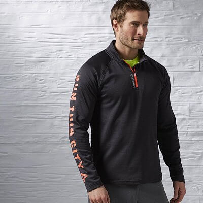 Reebok Running Essentials LS 1/4 Zip