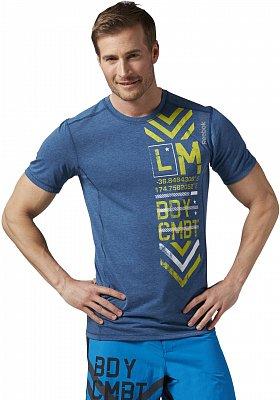 Pánské fitness tričko Reebok Les Mills Bodycombat Tee