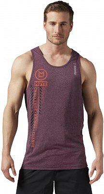 Pánské fitness tričko Reebok Les Mills Lifestyle Tank