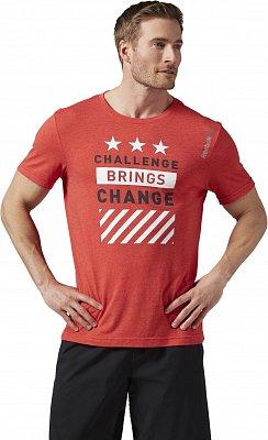 Pánské fitness tričko Reebok Les Mills Lifestyle Tee