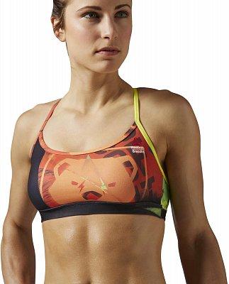 Sportovní podprsenka Reebok CrossFit Front Rack Bra