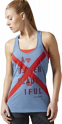 Dámské fitness tričko Reebok CrossFit A Better Beautiful Tank