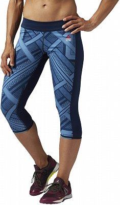 Dámské sportovní kalhoty Reebok CrossFit Chase Capri Shemagh