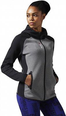 Dámská sportovní bunda Reebok Quik Cotton Full-Zip