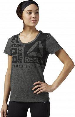 Dámské fitness tričko Reebok Speedwick Crew Neck Tee