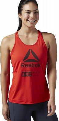 Dámské fitness tričko Reebok ACTIVChill Graphic Tank