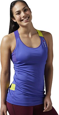 Dámské fitness tričko Reebok ACTIVChill Long Bra Top