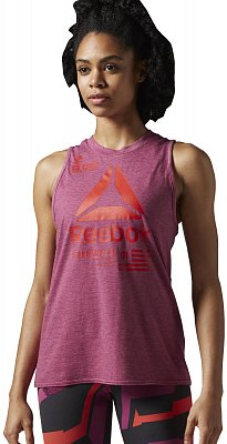 Dámské fitness tričko Reebok Speedwick Muscle Tank