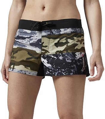 Dámské fitness kraťasy Reebok Happy Accident Board Short