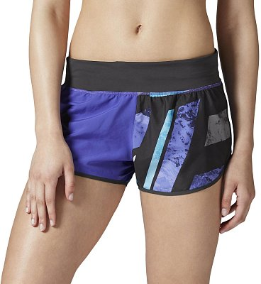 Dámské fitness kraťasy Reebok One Series 3in Tech Stripe Woven Short