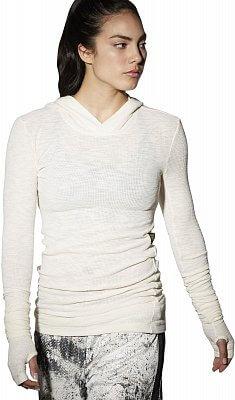 Dámské fitness tričko Reebok RNF LS Layering Hood