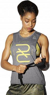 Dámské fitness tričko Reebok RNF Combat Tank