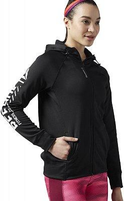 Dámská sportovní bunda Reebok WorkOut Ready Zip Hoodie