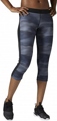 Dámské sportovní kalhoty Reebok WorkOut Ready All over print capri