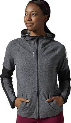 Dámská sportovní bunda Reebok WorkOut Ready FullZip hoodie