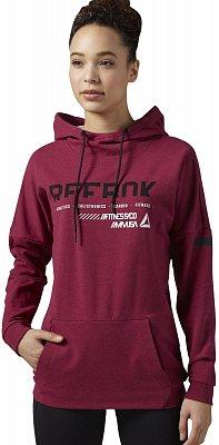 Dámská fitness mikina Reebok WorkOut Ready Cotton Series OTH Graphic Hoodi