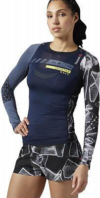 Dámské běžecké tričko Reebok Spartan Pro Long Sleeve Compression