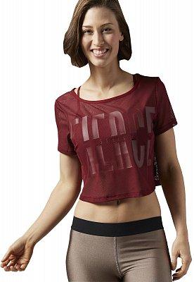 Dámské fitness tričko Reebok Cardio Mesh Tee