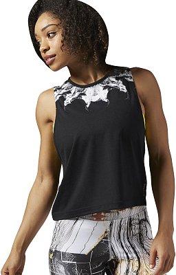 Dámské fitness tričko Reebok Cardio FashionTank