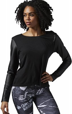 Dámské fitness tričko Reebok Dance Layering Top