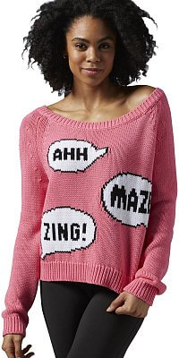 Dámská fitness mikina Reebok Yoga Sweater