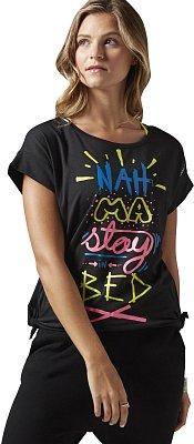 Dámské fitness tričko Reebok Yoga Tie Tee