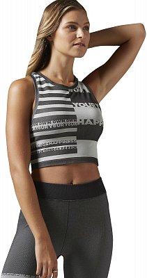 Dámské fitness tričko Reebok Yoga Seamless Top