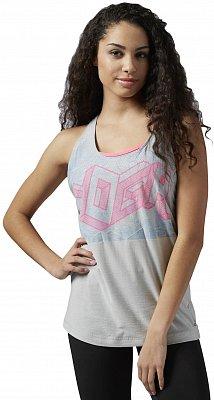 Dámské fitness tričko Reebok Yoga Yoga Tank