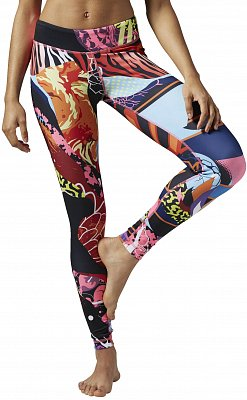 Reebok Yoga Graffiti Collab Tight