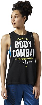 Dámské fitness tričko Reebok Les Mills Bodycombat Muscle Tank
