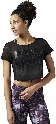 Dámské fitness tričko Reebok Les Mills Mesh Tee