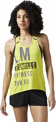 Dámské fitness tričko Reebok Les Mills Athletic Tank