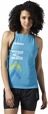 Dámské fitness tričko Reebok Les Mills Cycle Tank