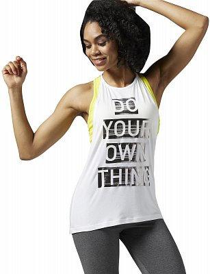 Dámské fitness tričko Reebok Studio Faves Tank