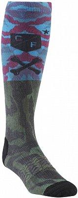 Sportovní podkolenky Reebok CrossFit Mens Printed Knee Sock 1p