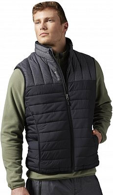 Pánská vesta Reebok Foundations Mens Padded Collar Vest