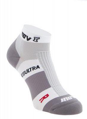 Ponožky Inov-8 RACE ULTRA low 2p white/grey bílá