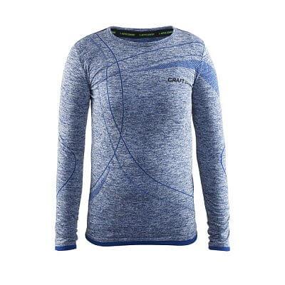 Trička Craft Triko Active Comfort LS tmavě modrá