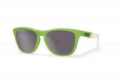 Sluneční brýle Oakley Frogskins Green Fade w/ PRIZM DlyPol