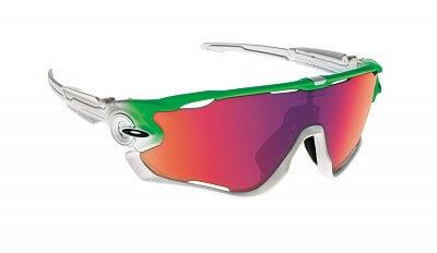 Sluneční brýle Oakley Jawbreaker Green Fade w/ PRIZM Road
