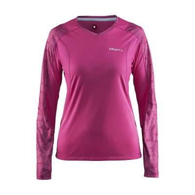 Dámské sportovní tričko Craft W Triko Devotion LS růžová