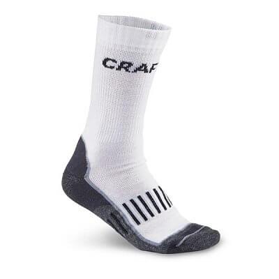 Ponožky Craft Ponožky ActiveTraining 2-pack bílá