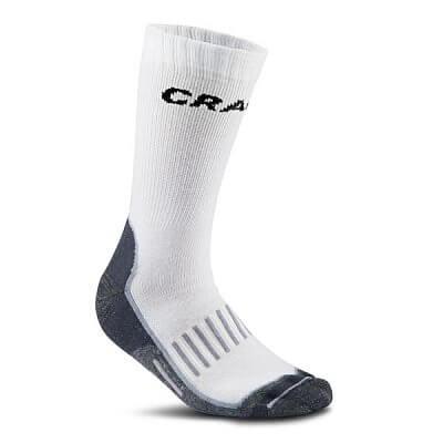 Ponožky Craft Ponožky Warm Training 2-pack bílá