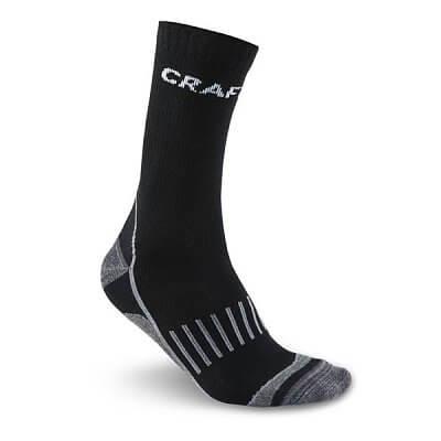 Ponožky Craft Ponožky Warm Training 2-pack černá