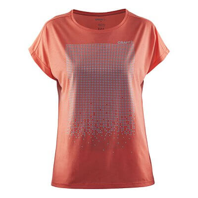 Dámské sportovní tričko Craft W Triko Mind Reflective SS oranžová