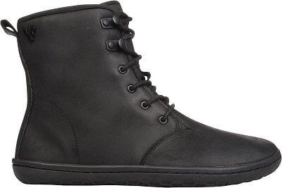 Vivobarefoot Gobi Hi Top L Leather Black/Hide