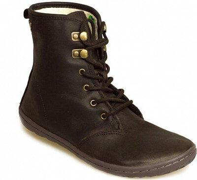 Dámská vycházková obuv Vivobarefoot Gobi Hi Top L Leather Dk Brown/Hide