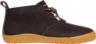 Dětská vycházková obuv Vivobarefoot Gobi K Leather Dk Brown