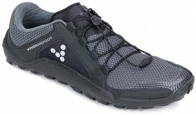 Pánské běžecké boty Vivobarefoot Primus Trail FG M Mesh Black/Charcoal