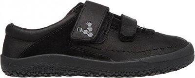 Dětská vycházková obuv Vivobarefoot Reno K Leather Black
